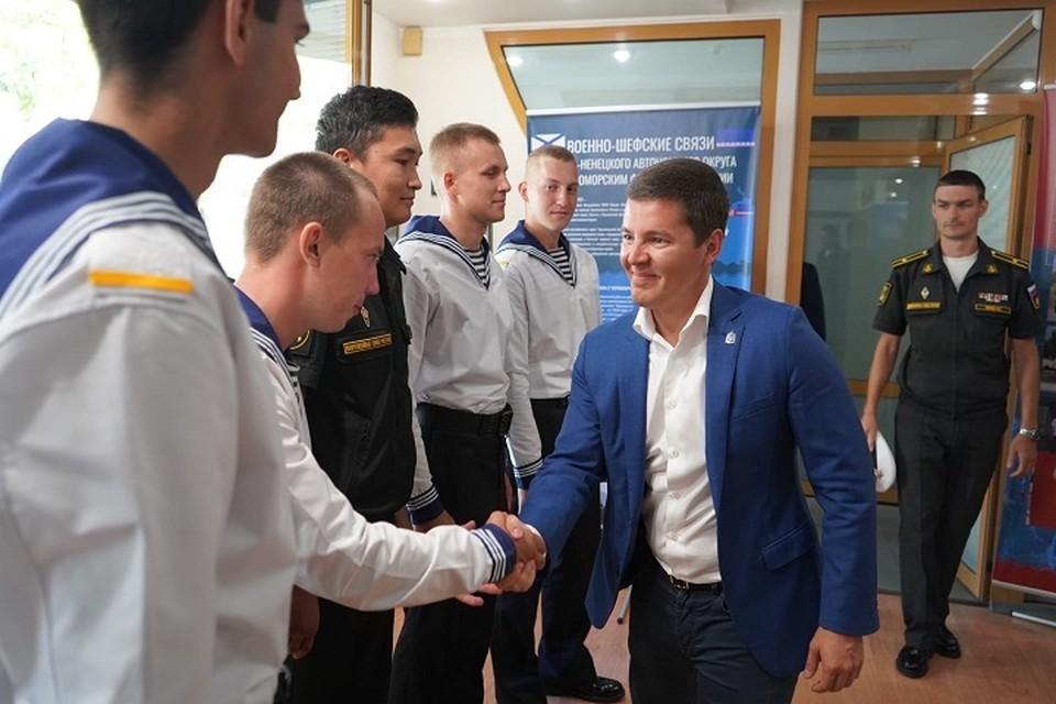Ямальских призывников в Крыму и Новороссийске может стать вдвое больше Фото: vk.com Дмитрия Артюхова