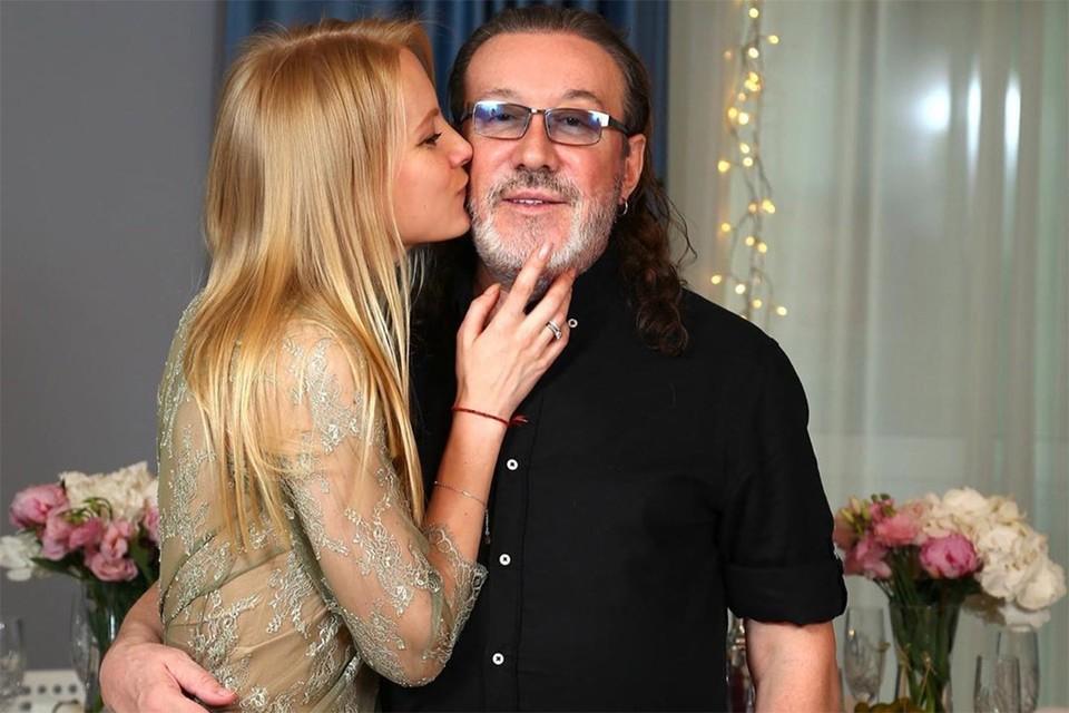 Владимир Кузьмин с женой Катей.