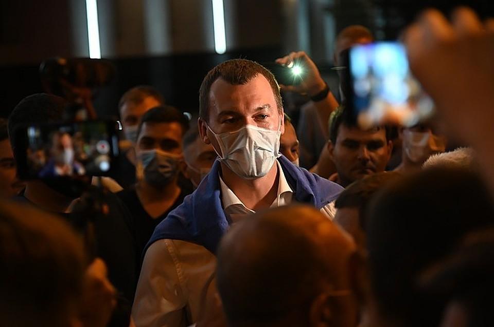 Михаил Дегтярев: Да, я сказал, что, возможно, вместе с Сергеем Шнуровым выйдем к митингующим. Потом извинился...