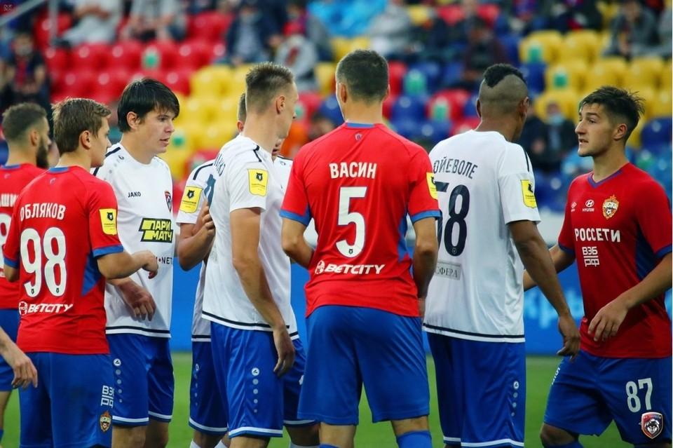 В последней игре сезона с ЦСКА клуб выглядел разобранным