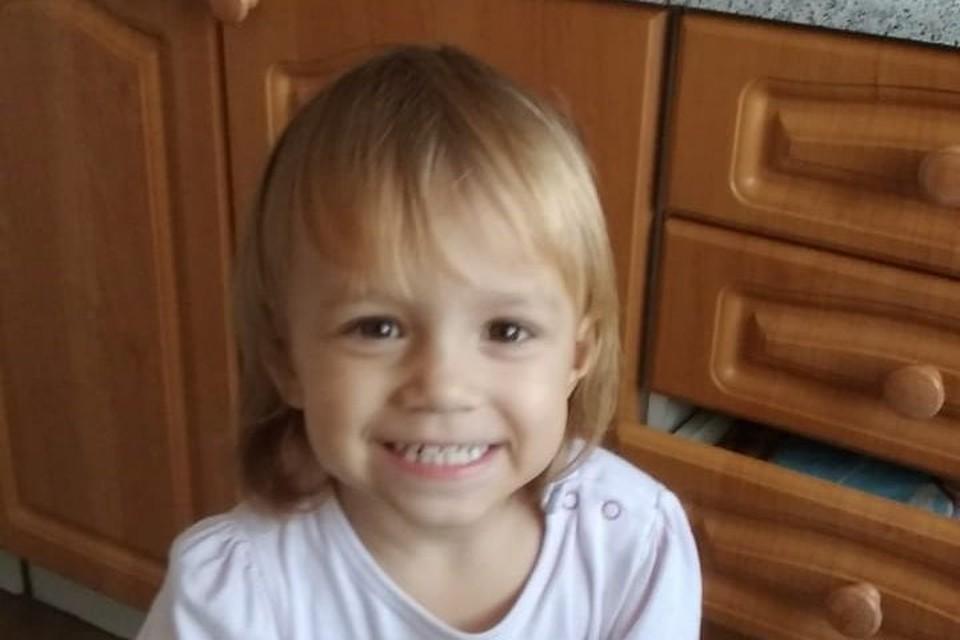Маленькая Аделина умерла 20 января. Фото: личный архив.