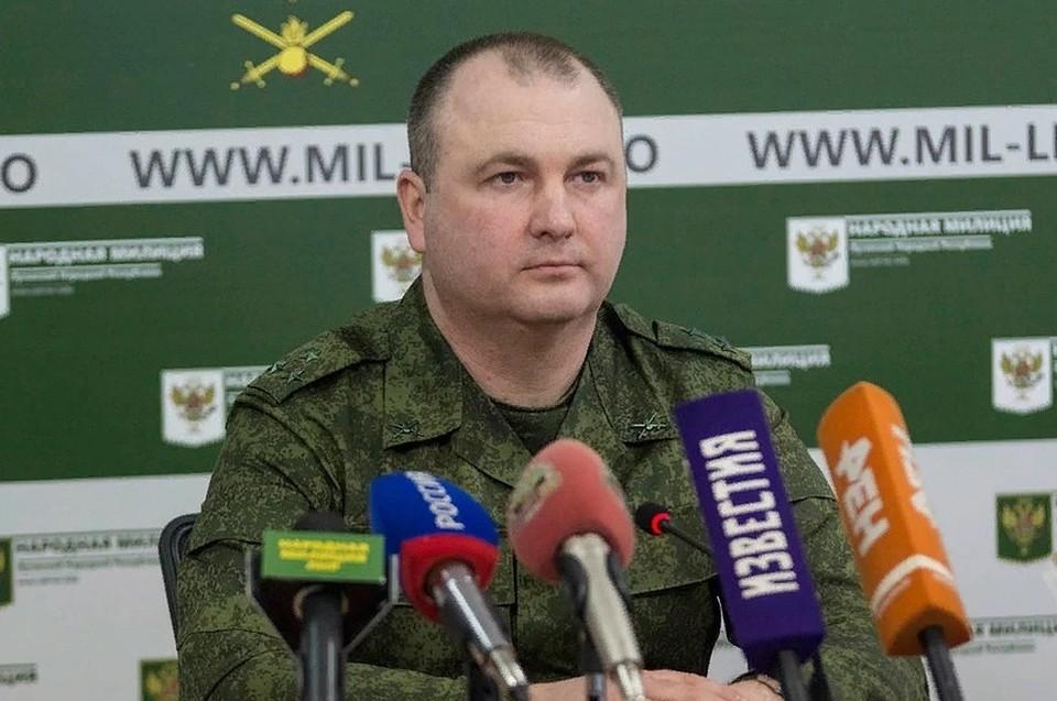 Ян Лещенко рассказал об обстановке на линии соприкосновения. Фото: ЛИЦ