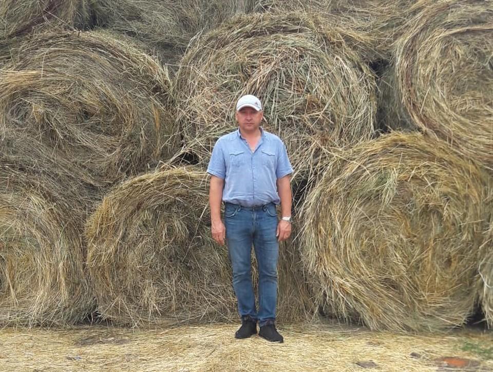 Чтобы получить хороший урожай, нужно все хорошенько рассчитать, уверен Олег Брыкин. Фото: АО «Россельхозбанк»