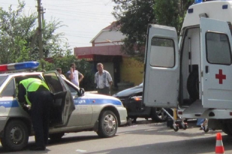 Авария произошла в Ульяновске.