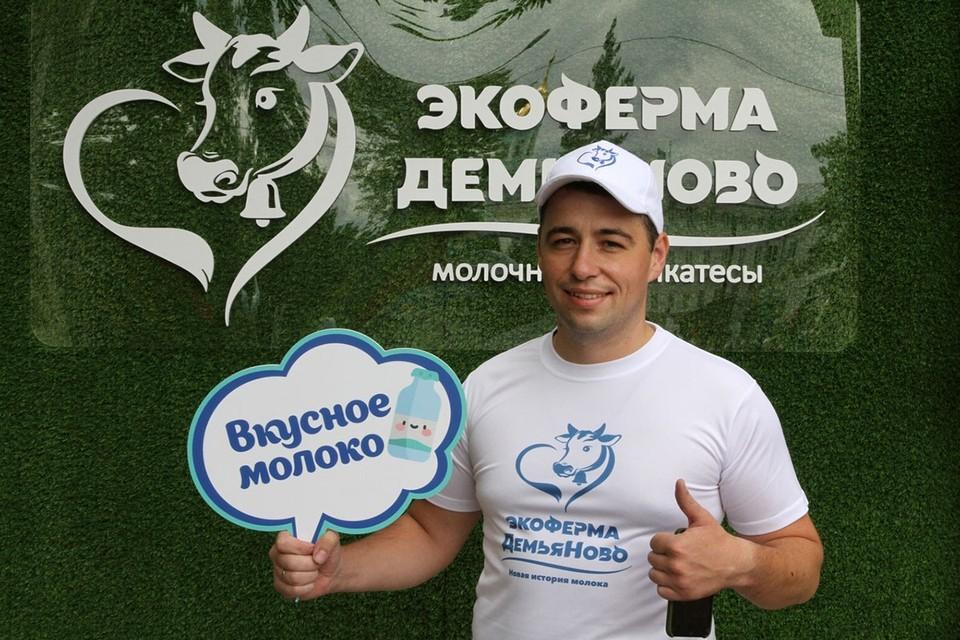 Однажды приехав помогать отцу, Александр Кочкин остался в родной деревне и вывел хозяйство в передовики. Фото: ecofermademyanovo.ru