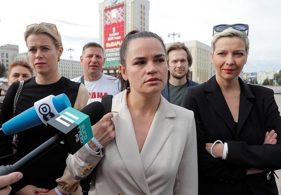 Кандидат в президенты Светлана Тихановская
