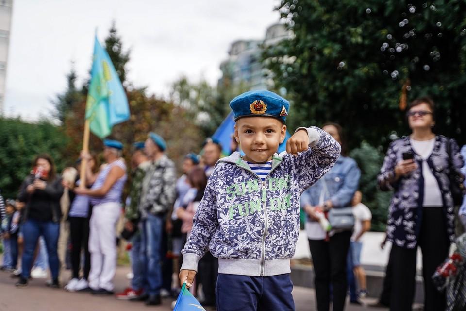 В Самаре поздравили десантников