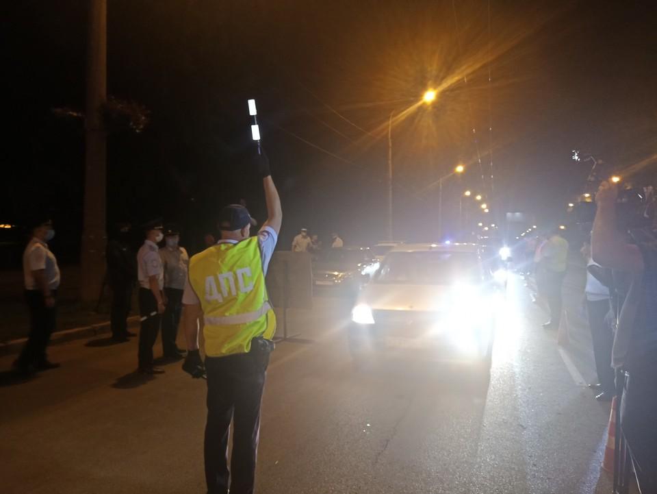 Водителей останавливали на ул.22 Партсъезда