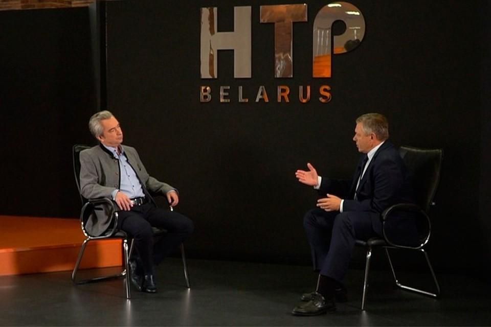 Глава ПВТ рассказал, что если бы Лукашенко не отнесся к Цепкало снисходительно, то он бы попал в тюрьму. Фото: Телеканал ОНТ