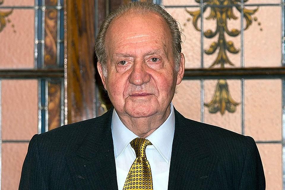 Бывший король Испании решил покинуть страну на фоне финансового скандала
