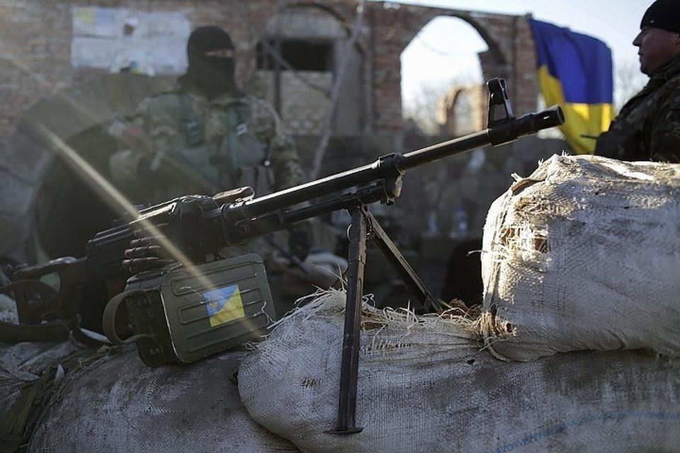 Украинские военные продолжают войну в Донбассе. Фото: «ООС»