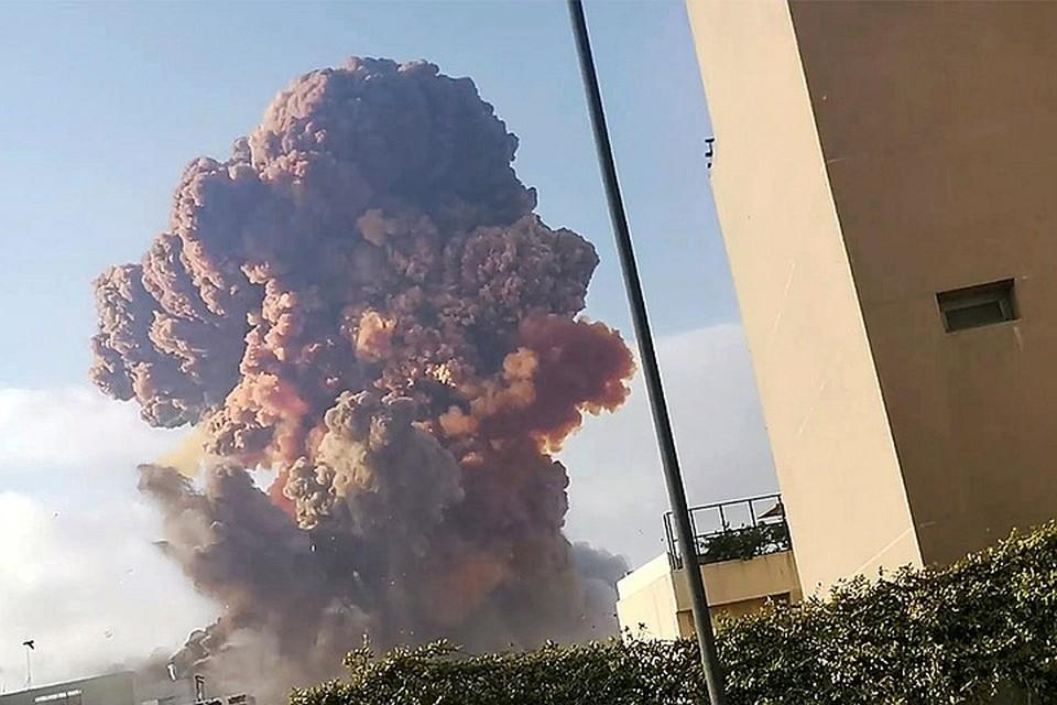 Мощность взрыва в Бейруте эквивалентна землетрясению магнитудой 4,5