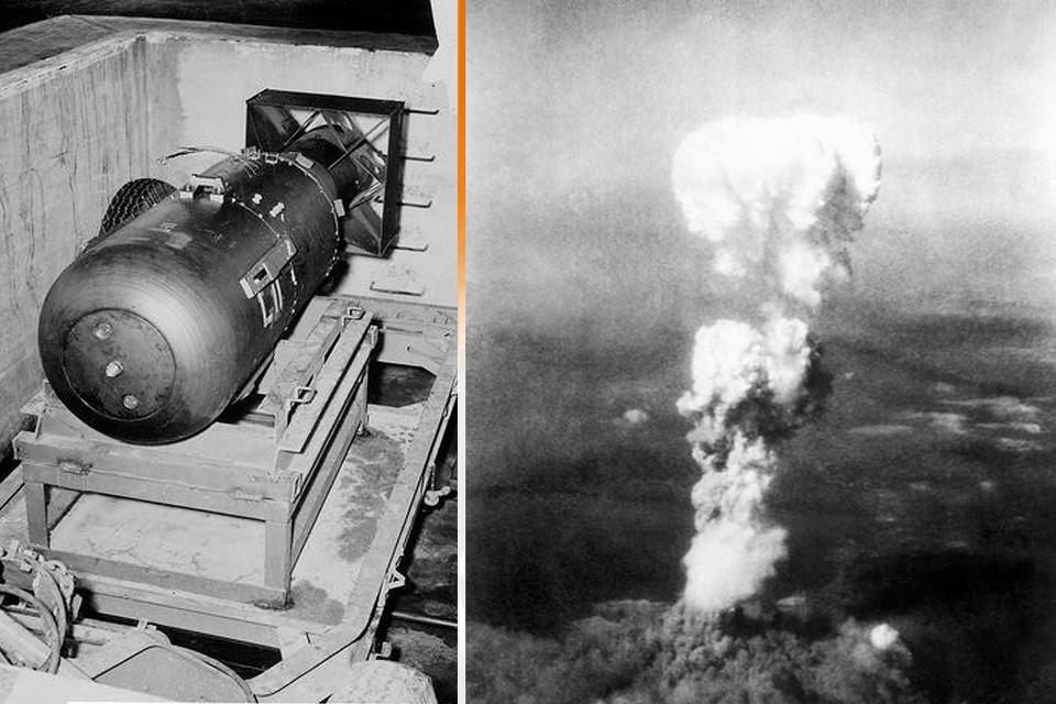 """75 лет назад американцы первыми в истории применили атомное оружие, сбросив бомбу """"Малыш"""" на японский город Хиросима."""