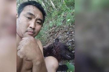 «Он хотел меня сожрать»: житель Якутии отбился от медведя-людоеда деревянными палками