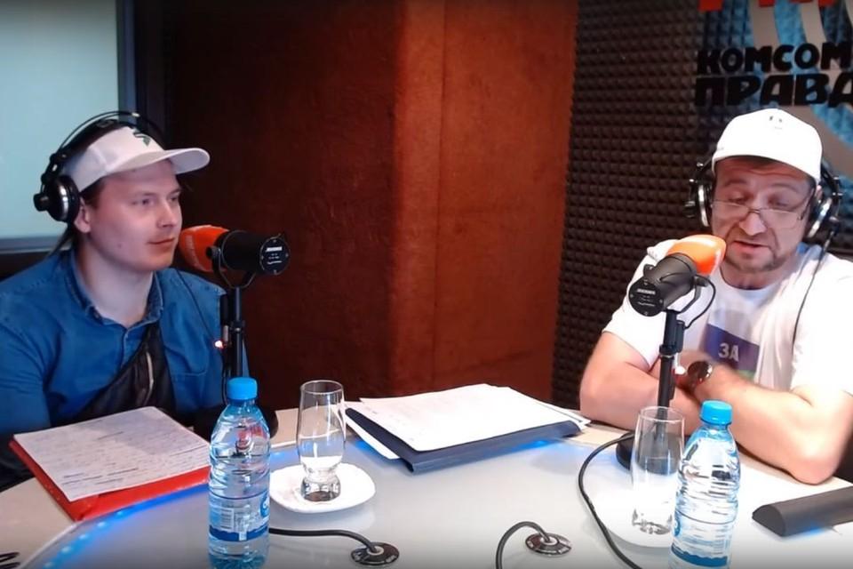 В радиостудии «Комсомольской правды» побывали новосибирские кандидаты в депутаты от партии «За правду».