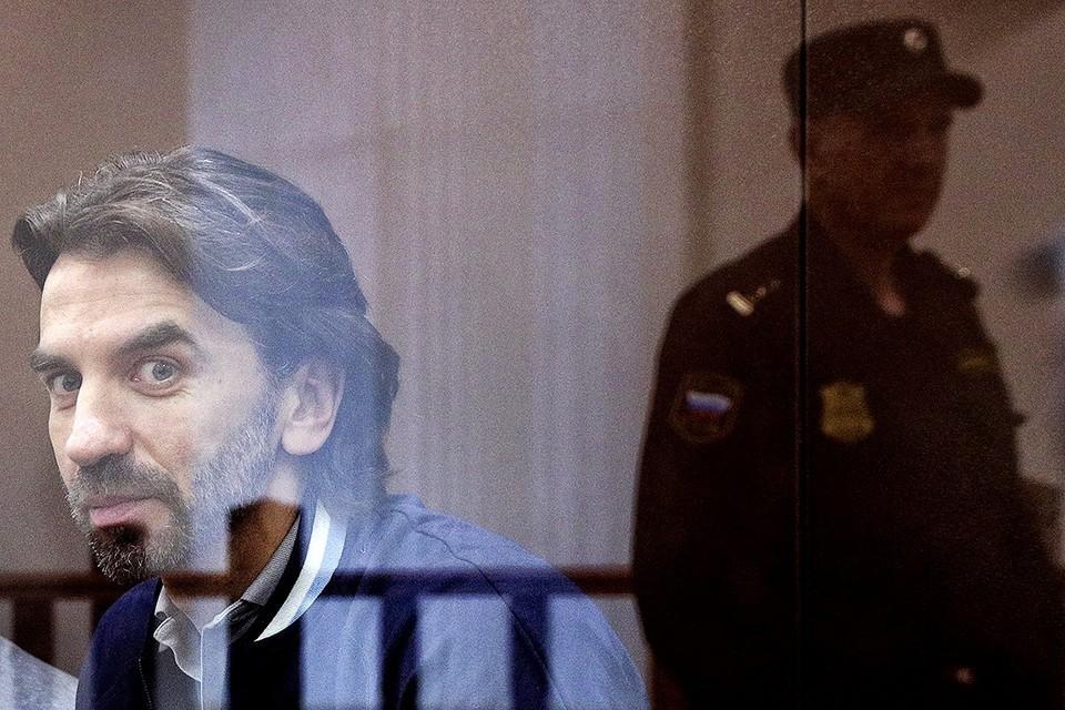 Экс-министр открытого правительства Михаил Абызов в Басманном суде. Фото: Михаил Терещенко/ТАСС