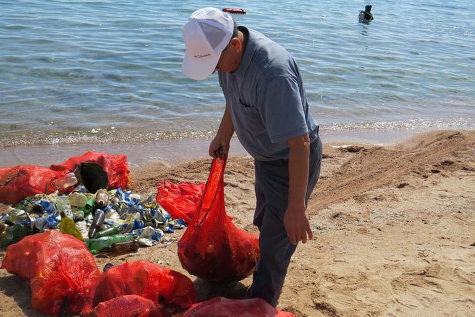 В итоге собрано более 3 тонн мусора.
