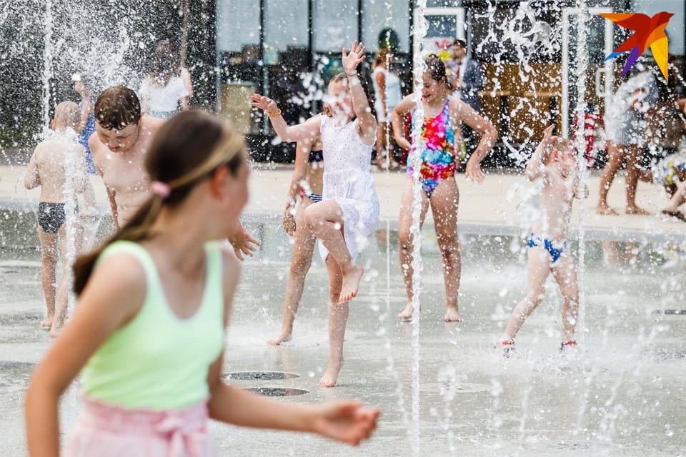 Новый режим работы фонтана будет действовать до 23 августа