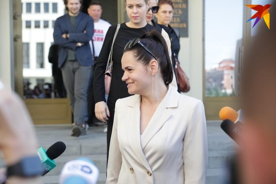 Задержано доверенное лицо Тихановской.