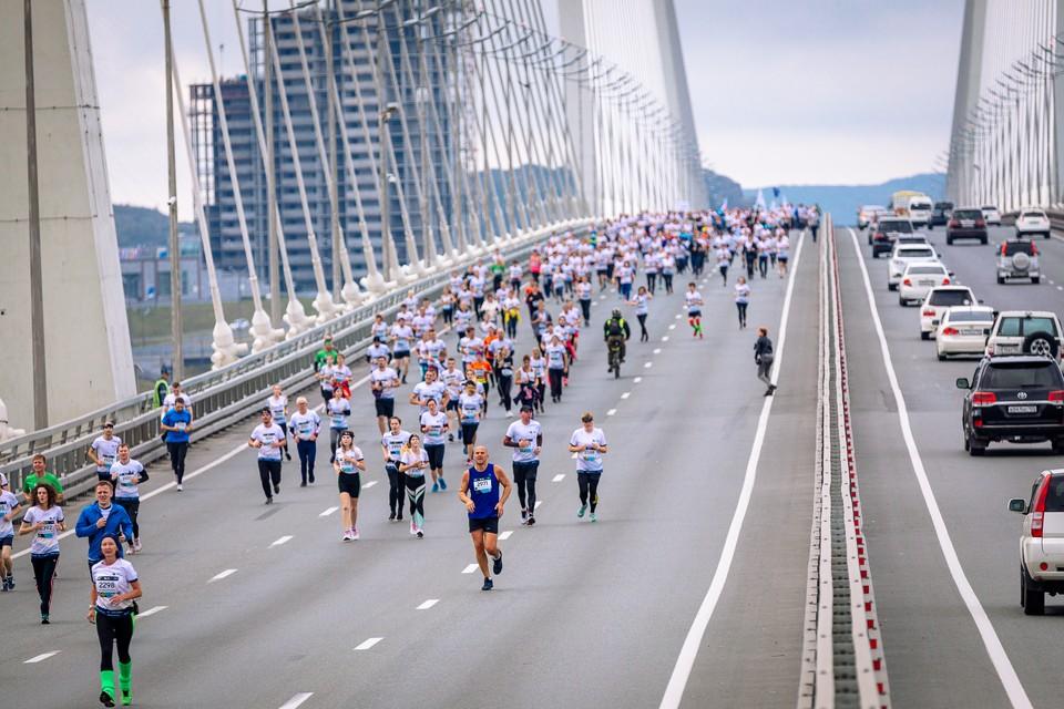 Galaxy Vladivostok Marathon 2019. Фото: предоставлено организаторами мероприятия