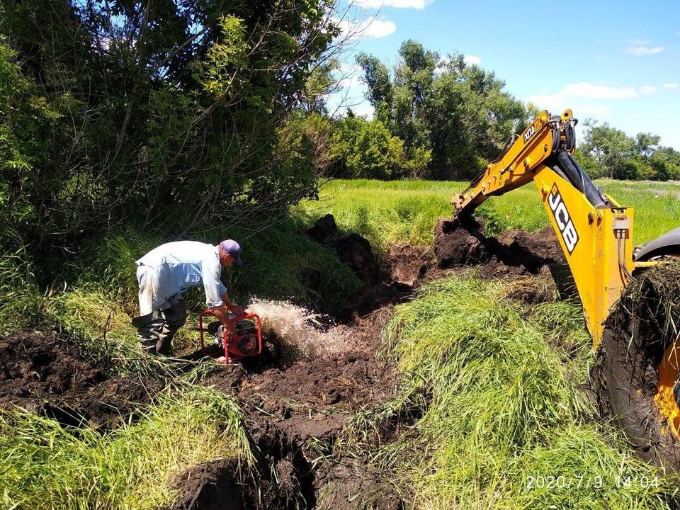 «Вода Донбасса» оценила масштаб повреждений водопровода. Фото: Представительство ДНР в СЦКК