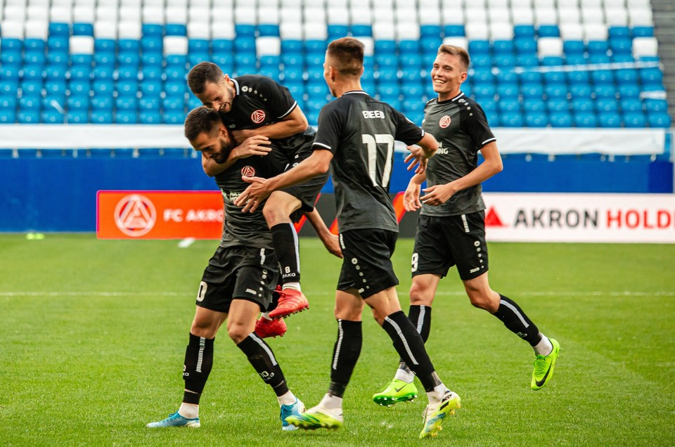 До этого матча «Акрон» и «Торпедо» не встречались. Фото: ФК «Акрон» (Тольятти).