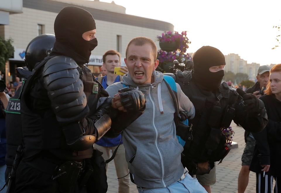Белорусским силовикам была команда быть максимально жесткими с протестующими.