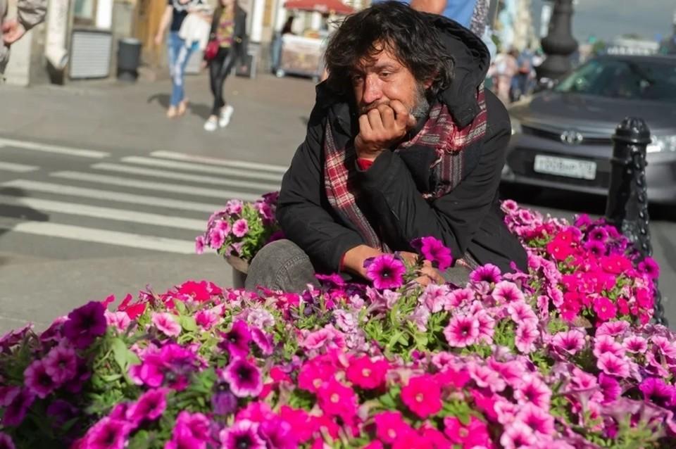 """Для петербургских бездомных разработают """"пятилетку"""" реабилитации."""