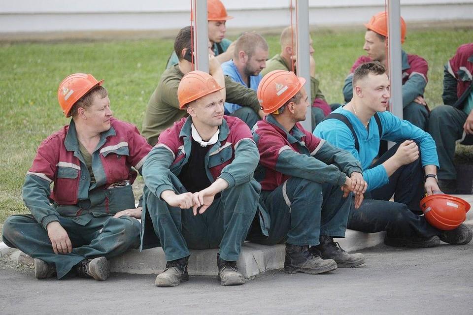 Рабочие готовились к забастовке с белорусской основательностью