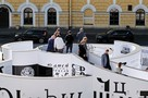 «Лабиринт Кириллицы» открылся у петербургского «Манежа»