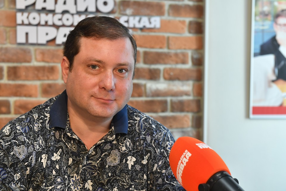 Губернатор Смоленской области Алексей Островский на Радио «Комсомольская правда»