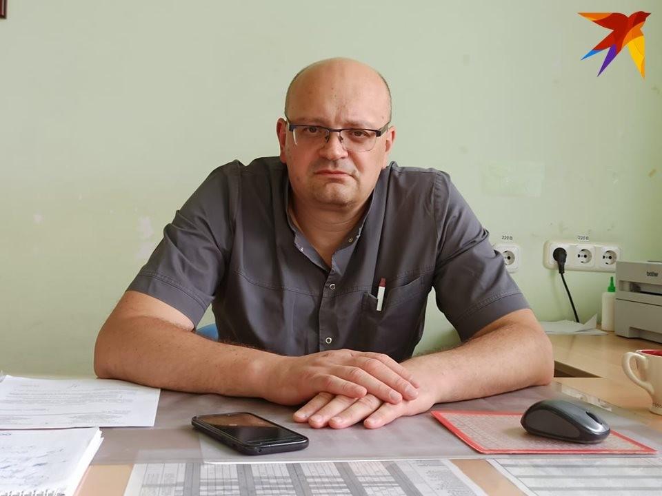 Юрий Анатольевич Сирош рассказал, как медикам приходилось работать в первые дни протестов.