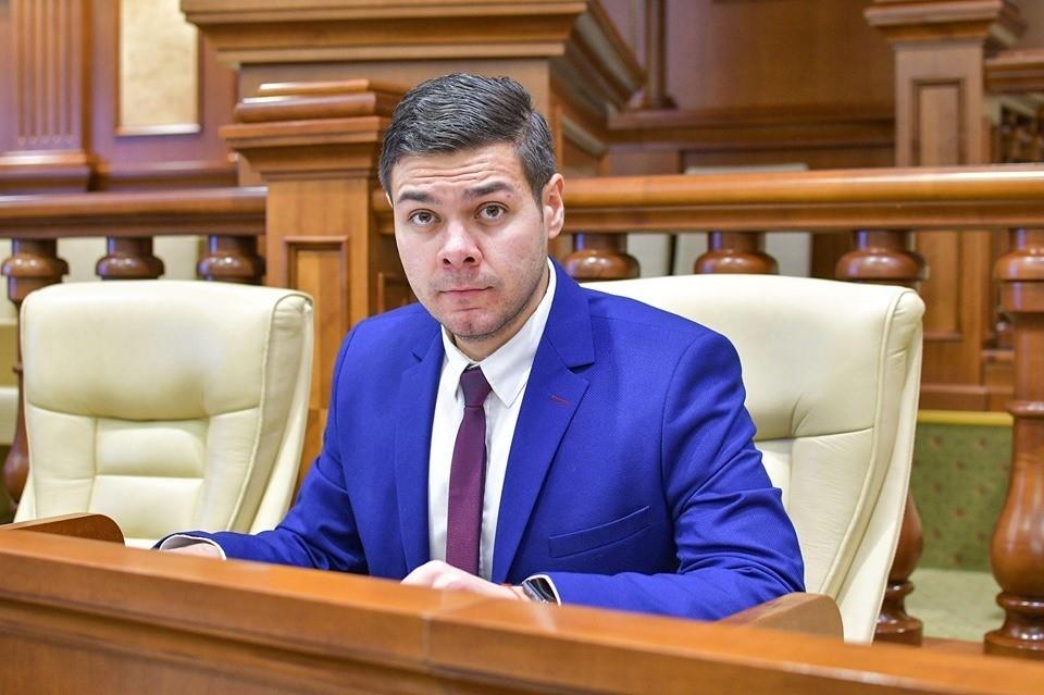 Никита Цуркан стал депутатом в 29 лет. Фото: соцсети