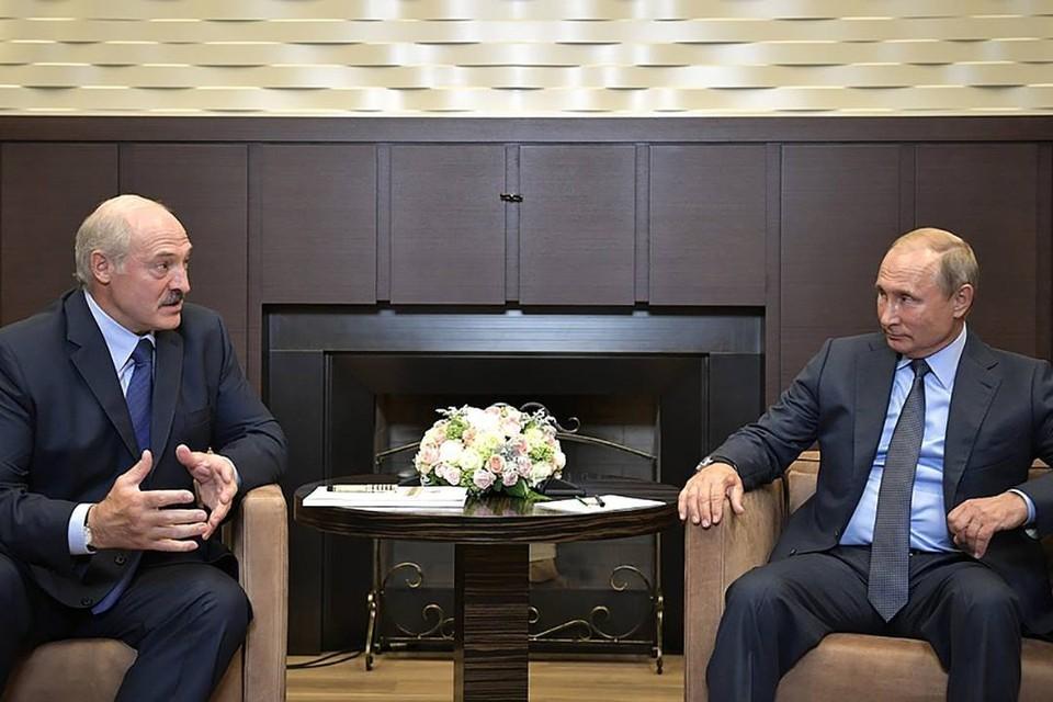 Лукашенко с Путиным созвонились 24 августа. Фото: kremlin.ru