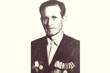 Красноармеец Петр Аверьянович Бельский