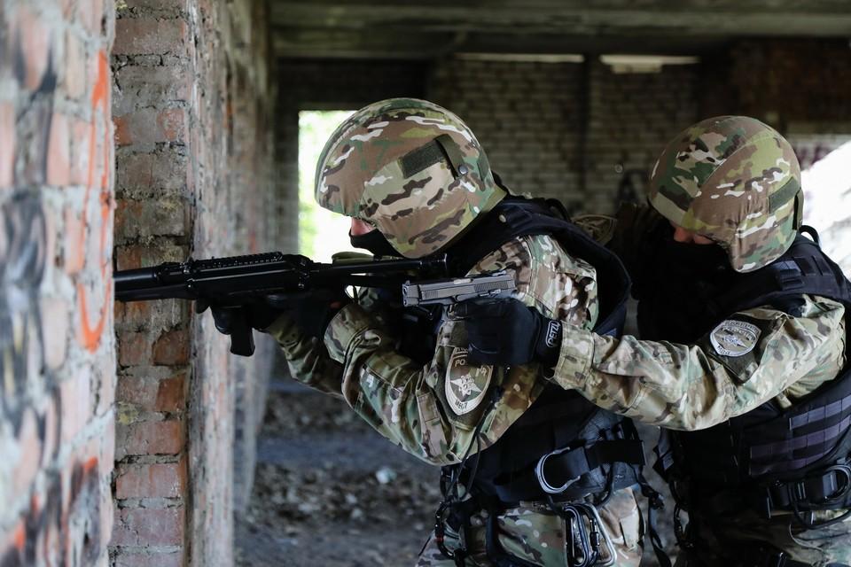 В Назрановском районе Ингушетии идет контртеррористическая операция