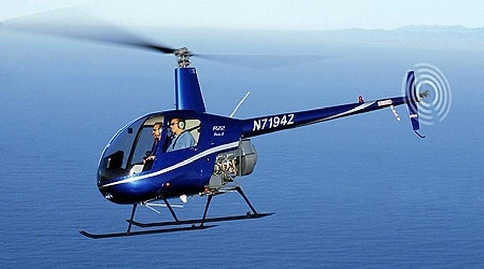 Примерно точно такой же вертолет совершил аварийную посадку в горах Сочи. Фото: robinsonprice.ru