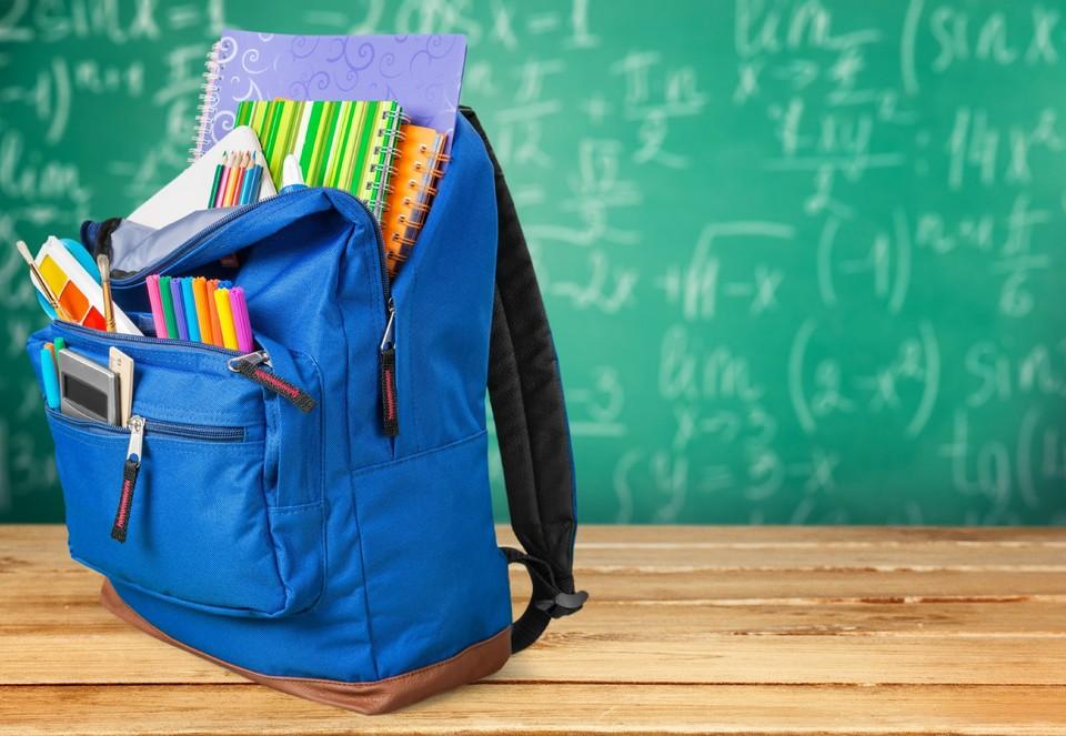 """Многие родители школьников не спешат собирать ребенка """"от и до""""."""