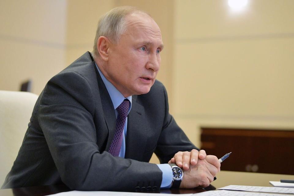Президент России Владимир Путин даст большое интервью 27 августа
