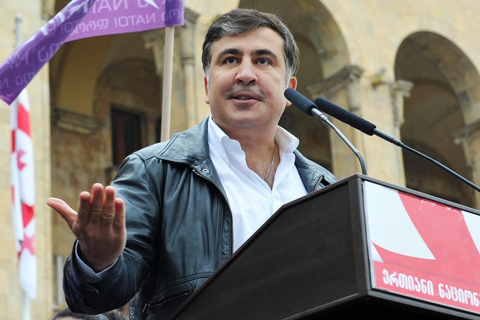 Экс-президент Грузии пообещал одно, потом заявил о другом, а в конце концов решил работать на «два фронта»
