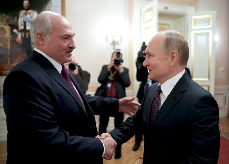 Путин и Лукашекно договорились о встрече в Москве