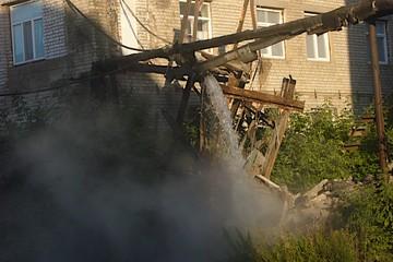 Аварию на теплотрассе во Дворе Пролетарки в Твери устранили менее, чем за сутки
