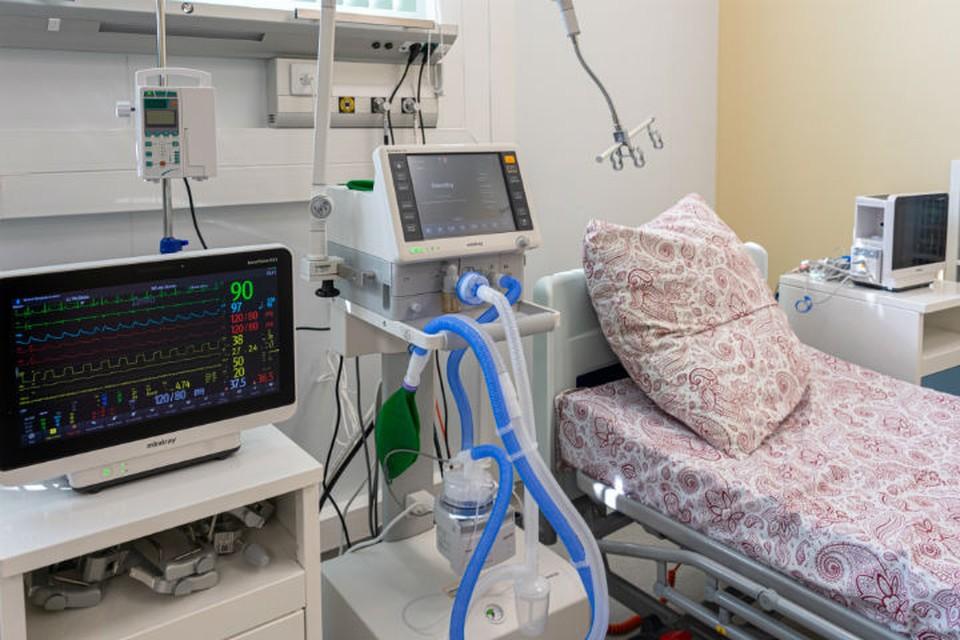 В медучреждении развернут 150 коек для больных коронавирусом