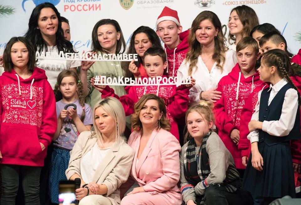 Конкурс «Дети Победы» проводит фонд «Под крылом России» Фото: Мария Смирнова