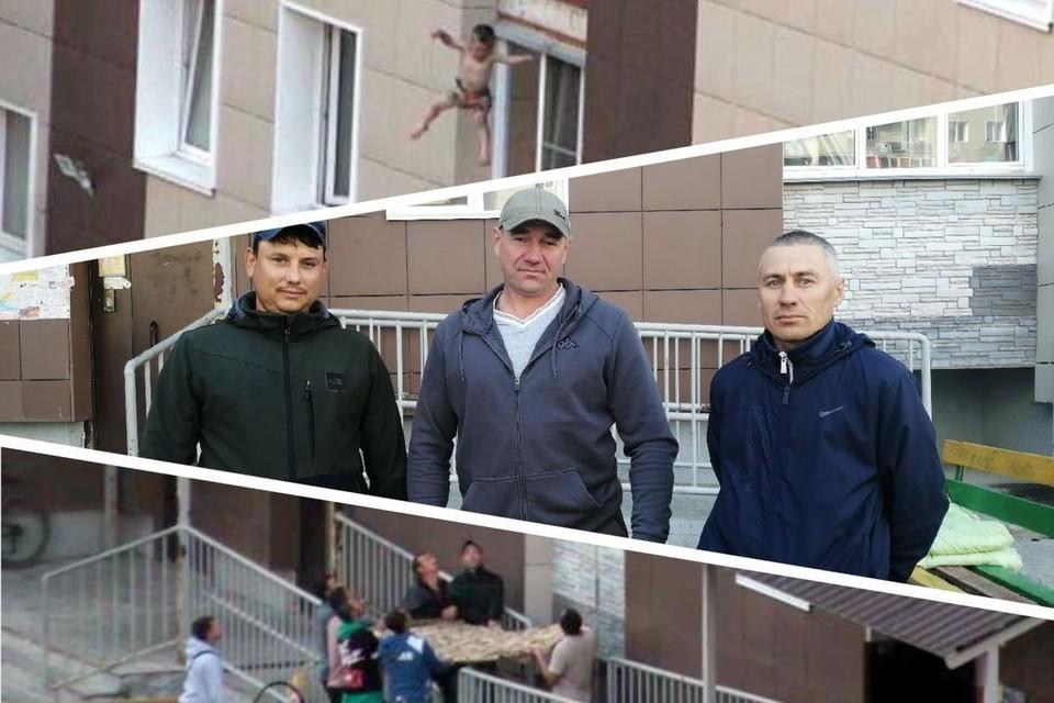 Сергей, Олег и Руслан (слева направо) знают друг друга больше 10 лет. Фото: Анна ПАШАГИНА/instagram.com/rodniki_54/