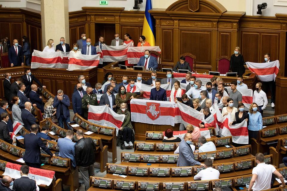 В конце минувшей недели Верховная рада Украины (ВРУ) устроила в парламенте «день белорусов».