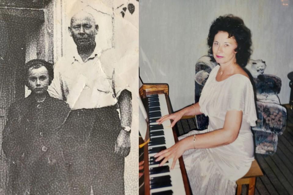 Татьяна ищет семью своего дяди (на фото слева американка с ним). Фото: личный архив.