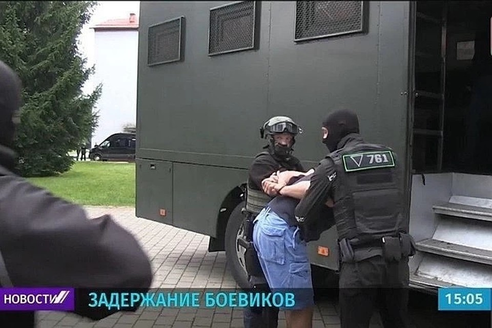 Лукашенко рассказал, что перед задержанными 33 гражданами России извинились. Фото: кадр из сюжета по БТ
