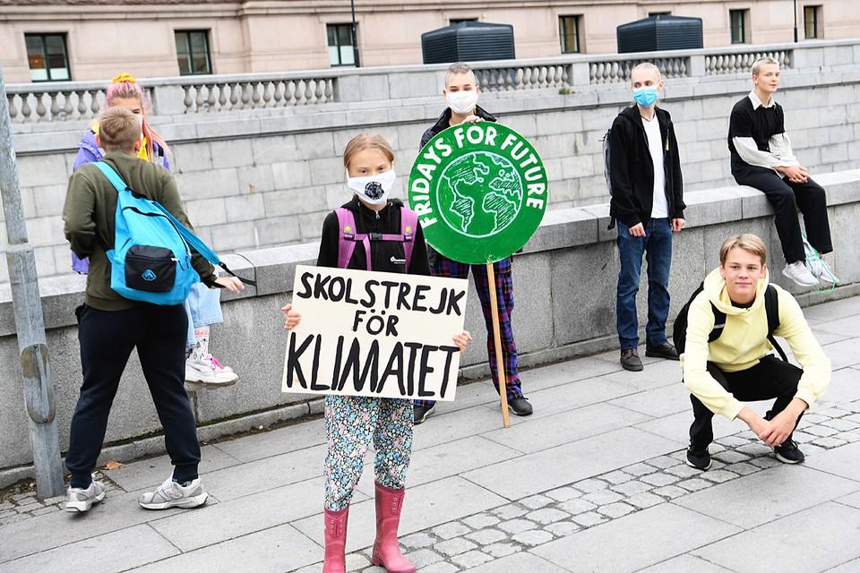 Среди молодежи немало юношей и девушек принимающих близко к сердцу проблемы экологии - 17-летняя Грета Тунберг из их числа