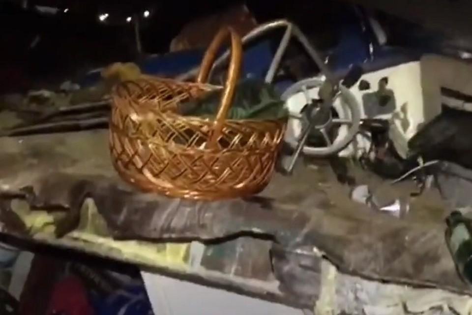 Опубликовано видео с места трагедии в Сургуте 9 сентября